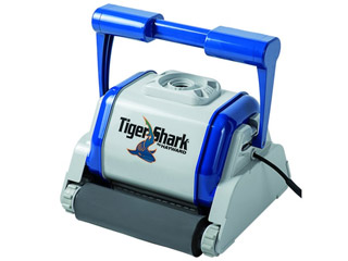 Robot piscine electrique Hayward TIGER SHARK brosses mousse