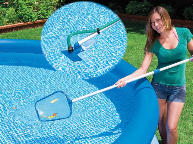 kit d 39 entretien avec aspirateur intex venturi piscine hors. Black Bedroom Furniture Sets. Home Design Ideas