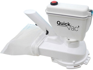 Robot aspirateur piles spa HEXAGONE Quick Vac SPA