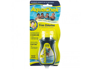 AquaChek - Testeur traitement au chlore Aquachek jaune