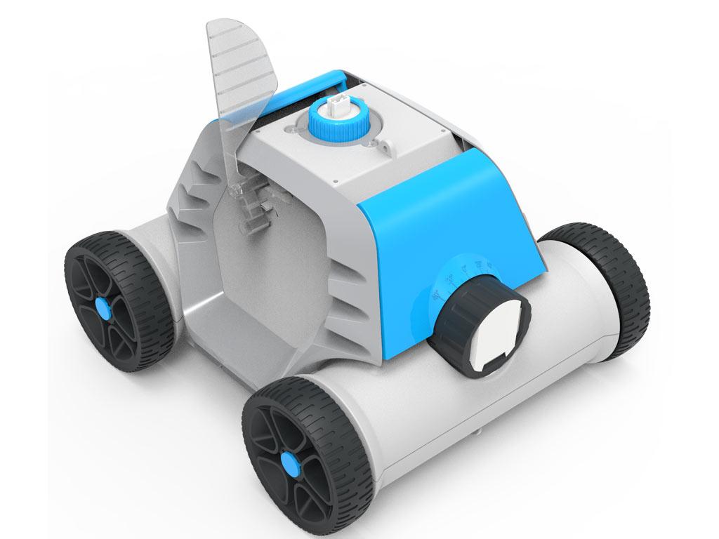 robot piscine lectrique sans fil bestway thetys sur. Black Bedroom Furniture Sets. Home Design Ideas