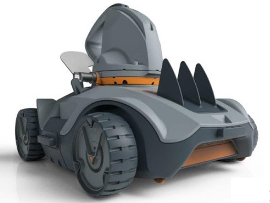 Robot aspirateur piscine sans fil vektro auto kokido sur - Robot piscine sans fil ...