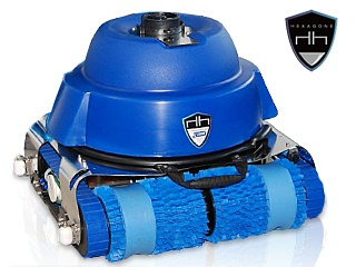 Robot piscine publique Hexagone CHRONO ECO 450 avec radiocommande et chariot