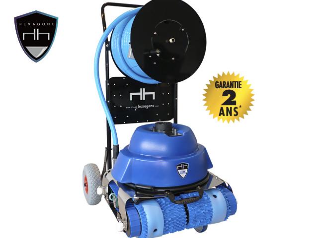 Robot piscine chrono eco 510 avec radiocommande et chariot for Piscine eco