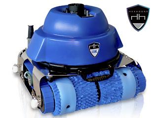 Robot piscine publique CHRONO ECO 510 avec radiocommande et chariot
