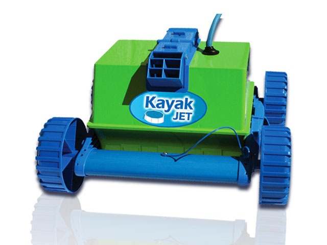 Robot piscine gr kayak jet aspiration de achat for Robot piscine sur batterie