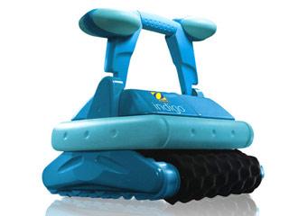 Robot piscine electrique Zodiac INDIGO brosses mousse avec chariot