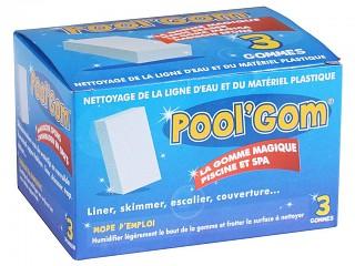 Boite de 5 gommes magiques anti-tache POOL'GOM pour piscine et spa
