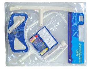 Kit d 39 entretien premium piscine et enterr e achat for Kit piscine enterree