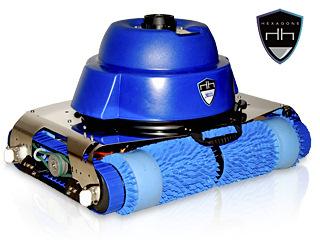 Robot piscine publique CHRONO ECO 730 avec radiocommande et chariot
