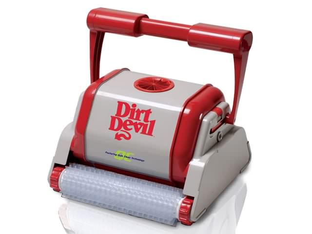 Robot piscine dirt devil rampage qc brosses picots achat for Robot piscine dirt devil