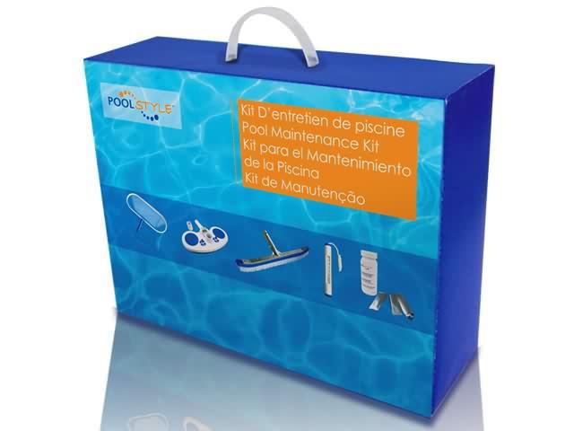 Kit d 39 entretien pool style deluxe piscine et enterr e for Piscine hors sol kit enterree pas cher