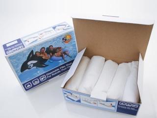 Boite de 5 sacs filtrants jetables SAFEBOT pour robots nettoyeurs electriques