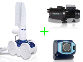 Pack robot hydraulique Polaris 280 avec surpresseur 1.5cv mono et coffret