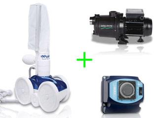 Pack robot hydraulique Polaris 280 avec surpresseur 1cv tri et coffret