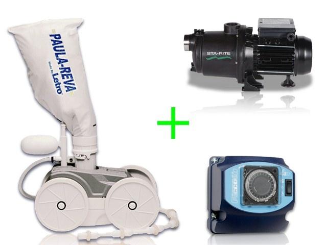 Pack robot letro paula reva avec surpresseur tri et for Robot hydraulique