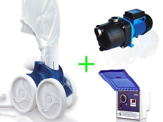 Pack complet polaris 380 surpresseur bp coffret for Robot piscine polaris 380