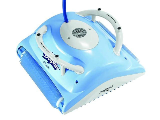 robot piscine dolphin splash brosses pvc achat vente. Black Bedroom Furniture Sets. Home Design Ideas