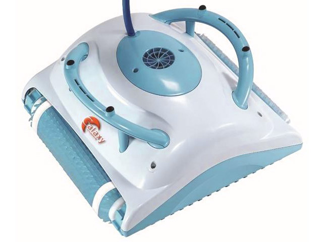 Robot piscine dolphin galaxy brosses combin es achat for Robot piscine moins cher