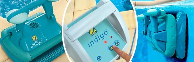 Robot piscine electrique Zodiac INDIGO brosses mousse avec chariot - Le robot piscine automatique Zodiac INDIGO