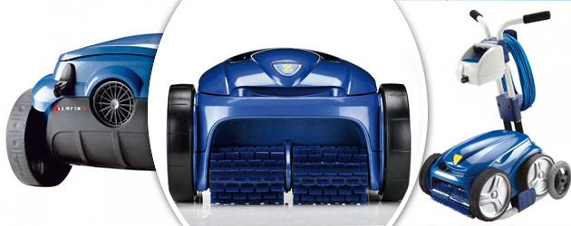 Robot piscine Zodiac VORTEX 3 + chariot + bac filtrant + brosses lamelles offerts - Robot VORTEX 3 de Zodiac un robot innovant et efficace