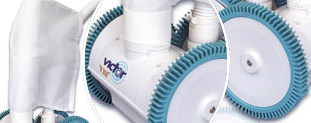 Robot piscine hydraulique Procopi VICTOR R300 P a aspiration - Le robot nettoyeur piscine hydraulique VICTOR R300 P