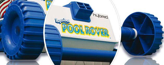 Robot piscine electrique Aquabot POOL ROVER filtration 10 microns - Robot nettoyeur de piscine électrique Aquabot POOL ROVER
