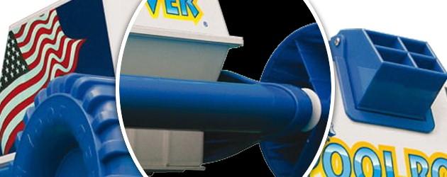 Robot piscine electrique Aquabot POOL ROVER filtration 10 microns - Robot nettoyeur électrique Aquabot POOL ROVER rapidité et robustesse