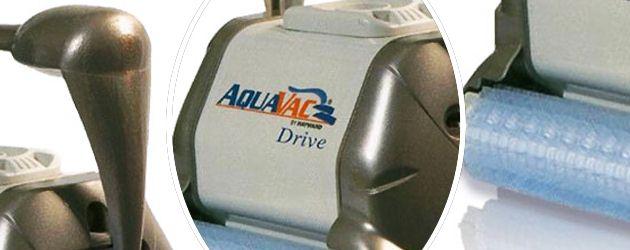 Robot piscine electrique Hayward AQUAVAC DRIVE brosses picots - Le robot nettoyeur de piscine électrique Hayward AQUAVAC DRIVE brosses picots
