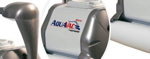 Robot piscine electrique Hayward AQUAVAC DRIVE brosses mousse - Le robot nettoyeur de piscine électrique Hayward AQUAVAC DRIVE brosses mousse