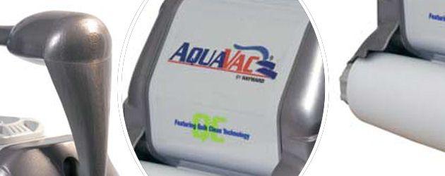 Robot piscine electrique Hayward AQUAVAC QC CHARIOT brosses mousse - Le robot nettoyeur de piscine électrique Hayward AQUAVAC QC brosses mousse