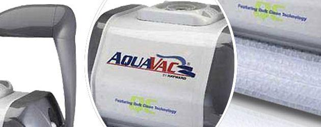 Robot piscine electrique Hayward AQUAVAC QC CHARIOT brosses picots - Le robot nettoyeur de piscine électrique Hayward AQUAVAC QC brosses picots