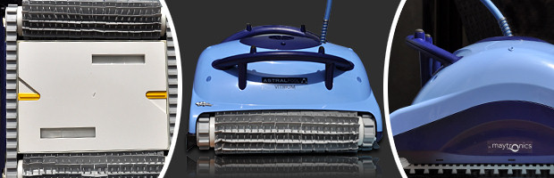 Robot piscine electrique Dolphin VITRIUM brosses picots - Avantages du robot nettoyeur de piscine Dolphin VITRIUM