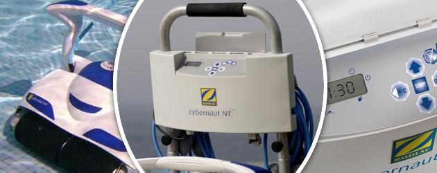 robot piscine zodiac cybernaut nt 17 5m avec chariot