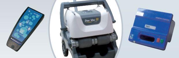 Robot piscine electrique Procopi STAR VAC 3 avec telecommande et chariot - Le robot piscine STAR VAC 3 efficacité et robustesse