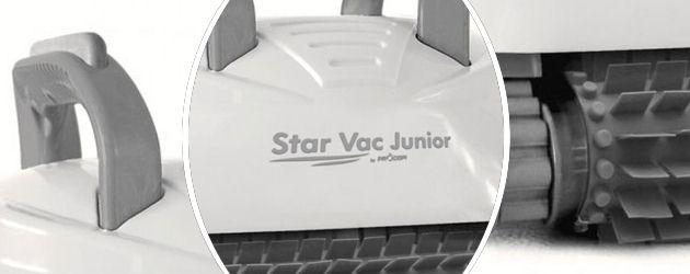 Robot piscine electrique Procopi STAR VAC JUNIOR brosses picots - Le robot nettoyeur de piscine électrique STAR VAC JUNIOR