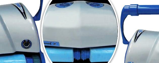Robot piscine electrique Aquabot ULTRAMAX GYRO chariot et radiocommande - Le robot nettoyeur de piscine électrique professionnel Aquabot ULTRAMAX GYRO