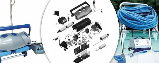 Robot piscine electrique Aquabot ULTRAMAX GYRO chariot et radiocommande - Robot nettoyeur électrique ULTRAMAX GYRO, professionnel et robuste