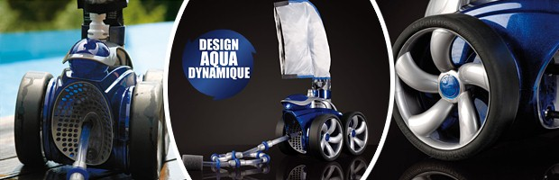 Robot piscine hydraulique Polaris 3900 Sport a pression - Robot piscine POLARIS 3900 SPORT un robot performant et efficace