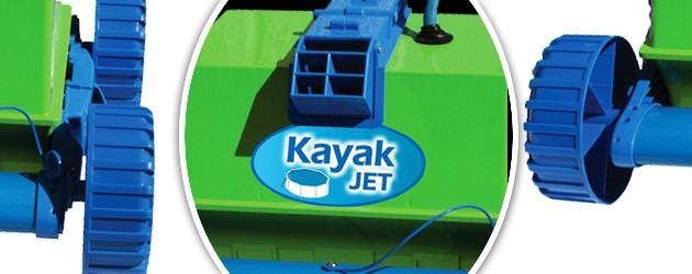 Robot piscine electrique Gre KAYAK JET aspiration de 14.2m3/h - Le robot nettoyeur de piscine électrique GRE KAYAK JET