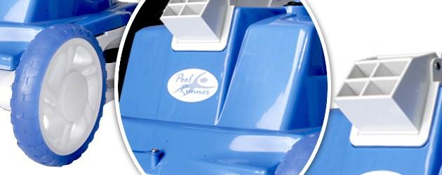 Robot piscine electrique Gre POOL RUNNER filtration a 2 microns - Le robot nettoyeur de piscine électrique GRE POOL RUNNER