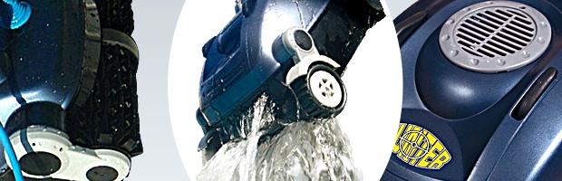 Robot piscine electrique Smartpool HUNTER technologie Super Cord - Robot Smartpool HUNTER un véritable chasseur de saletés