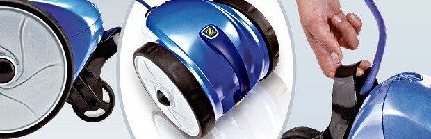 Robot piscine electrique Zodiac VORTEX 1 bac recuperateur ergonomique - Robot VORTEX 1 de Zodiac un robot innovant et efficace