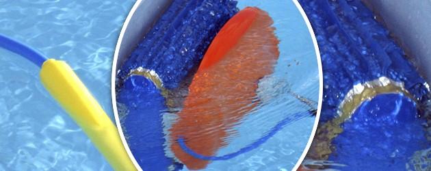 Robot piscine electrique WATER CLEAN avec chariot - Le robot nettoyeur de piscine électrique WATER CLEAN