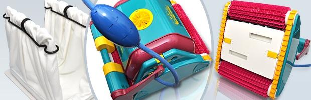 Robot piscine electrique Dolphin DIAGNOSTIC 2001 avec chariot - Robot Dolphin DIAGNOSTIC 2001, sécurité du travail bien fait