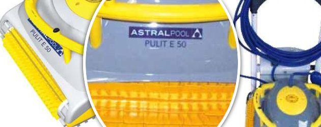 Robot piscine electrique Dolphin PULIT E50 avec chariot de transport - Le robot nettoyeur de piscine électrique Dolphin PULIT E50