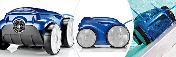 Robot piscine electrique Zodiac VORTEX 4 avec chariot et telecommande - Robot VORTEX 4 de Zodiac un robot innovant et efficace