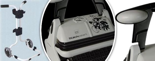 Robot piscine electrique Zodiac BLACK PEARL avec chariot - Le robot piscine automatique Zodiac BLACK PEARL