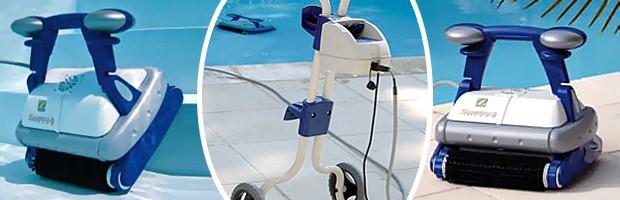 Robot piscine Zodiac SWEEPY FREE avec telecommande et chariot - SWEEPY FREE Zodiac un robot efficace et rapide