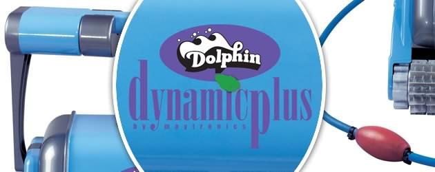 Robot piscine electrique Dolphin DYNAMIC PLUS avec telecommande - Présentation du Dolphin DYNAMIC PLUS